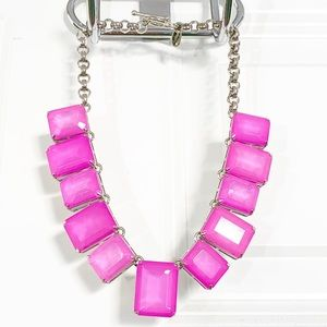 Ann Taylor Neon Lights Pink Necklace